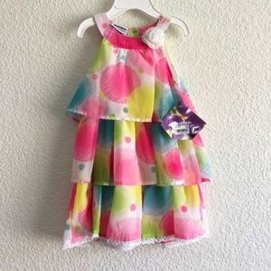 🍭Blueberi Boulevard- Tiered Spring/Summer Dress